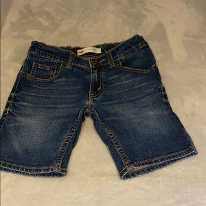 Levi's skinny shorts